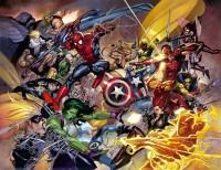 Marvel's Civil War by Leinil Yu