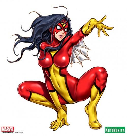 marvel kotobukiya bishoujo spider woman