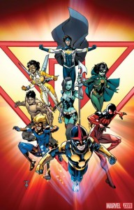 Marvel's new line-up for the New Warriors