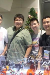 The boys of Arigatoys!