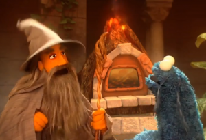 SESAME STREET: The Lord of the Crumbs