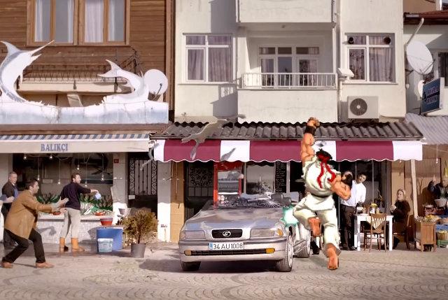 ryu-attacks-car