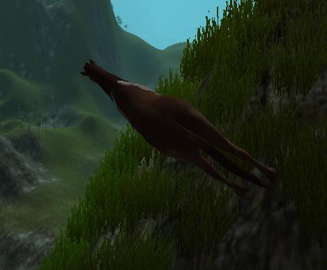Cliff Horse