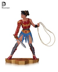 Wonder Woman - Art of War; Young Wonder Woman Statue