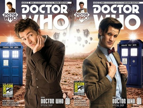 Doctor Who Comic covers