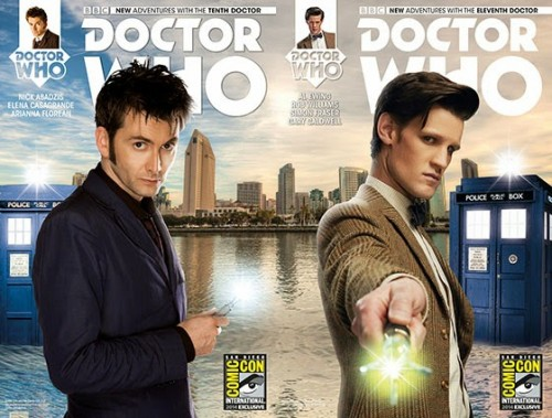 Ten and Eleven new covers