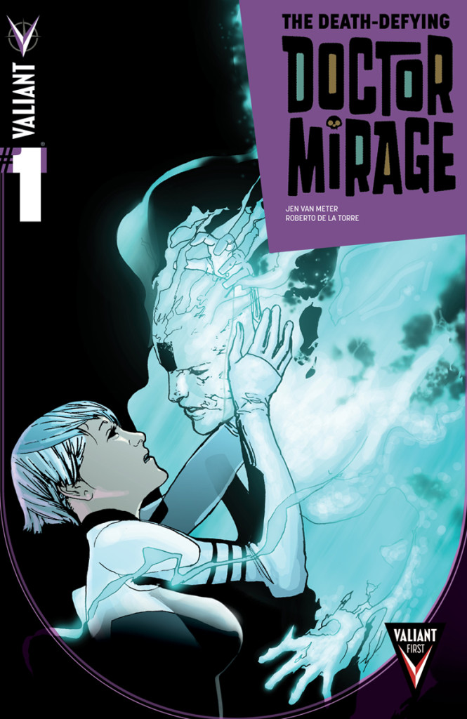 Death Defying Dr. Mirage #1 cover