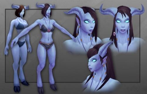 Female Draenei 1