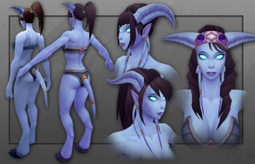 Female Draenei 2