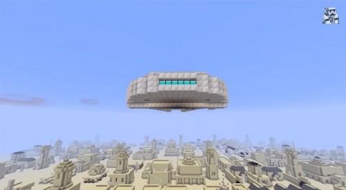 Minecraft Star Wars 4