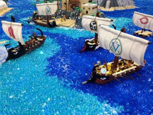 Odyssey fleet at lego sea