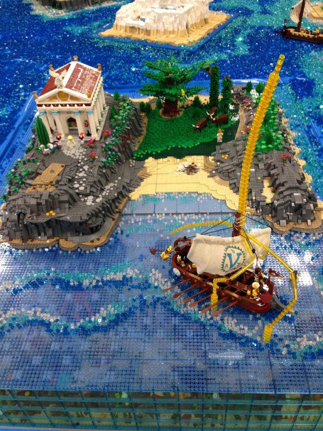 Odysseus in Circe's island