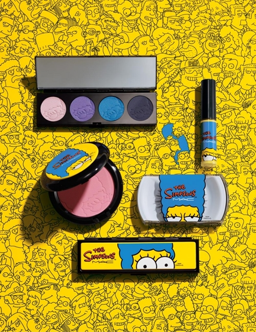 "Marge voiced out her opinion about the eye shadow colors. (inserts her voice here): ""They're all so great! And, this Beehive blue? It will definitely compliments my hair."""