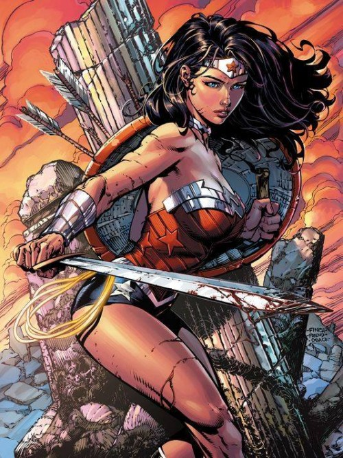 Wonder Woman cover by David Finch