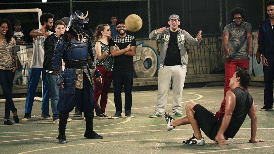 football-freestylist-champion-kotaro-tokuda-battles-in-brazil-in-full-samurai-gear