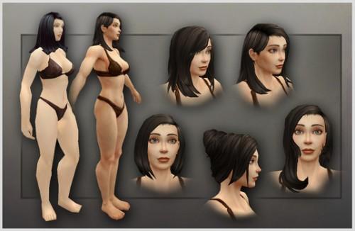 Human Model Draenor