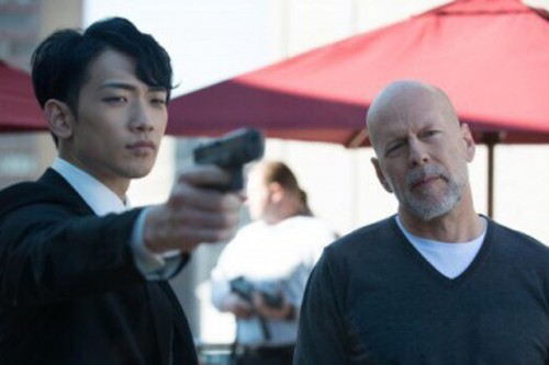 rain and bruce willis THE PRINCE