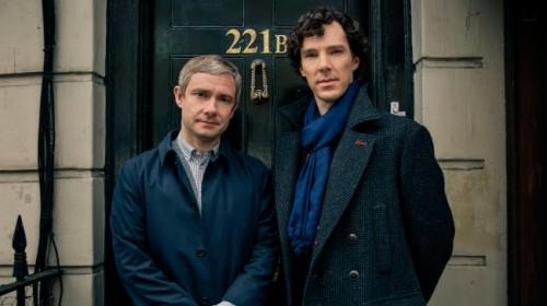Sherlock Season 4's Cumberbatch & Martin