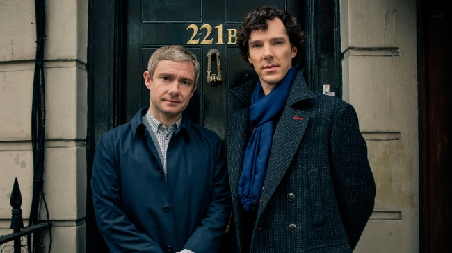 Sherlock Season 4's Cumberbatch & Freeman