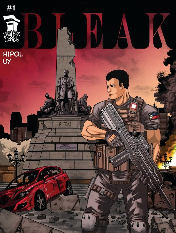 Bleak cover Avery Hipol Indieket 2014
