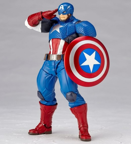Revoltech-Captain-America-Figure-004
