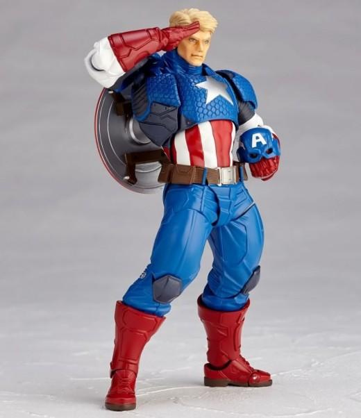 Revoltech-Captain-America-Figure-005