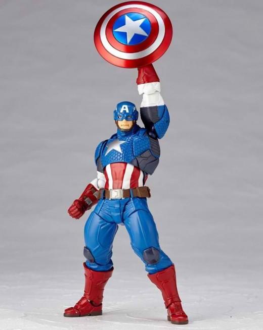 Revoltech-Captain-America-Figure-009