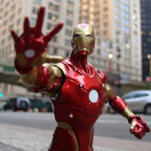 "Marvel Select Bleeding Edge Iron man 7/"" Action Figure Disney Exclusive ** Nouveau **"