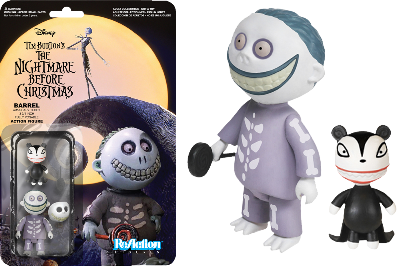 FUNKO releases THE NIGHTMARE BEFORE CHRISTMAS ReAction figures ...