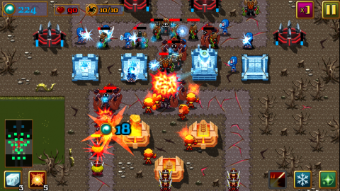 warrior defense android