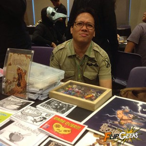 It's Omeng Estanislao, the maker of Bruho Barbero. Check out his comics!