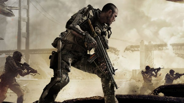 Official game cover of Call of Duty: Advanced Warfare