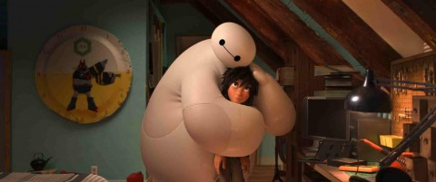 Oh Baymax, you inflatable cute thing.