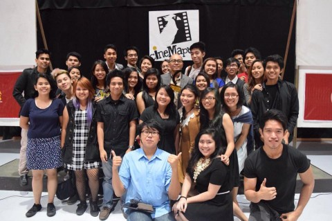 FAME members with Benigno Agapito. Photo by CineMapua.