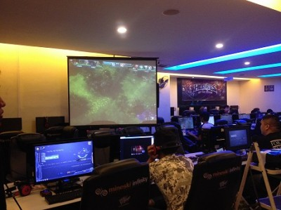 One of the main events: Scrim Matches