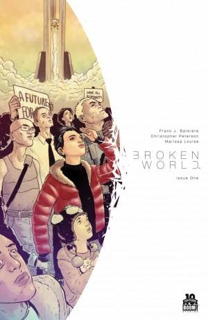 Broken World #1 cover