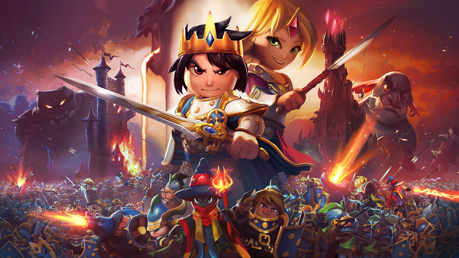 Royal revolt 2 как сделать