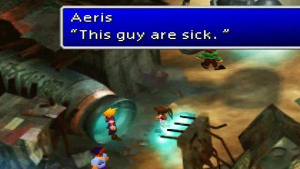 Final Fantasy VII Translation