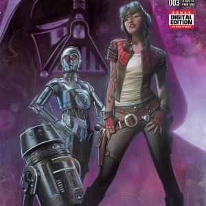 Darth Vader #3 Adi Granov 4TH Printing Variant