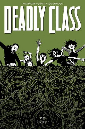 Deadly Class Vol 3 cover