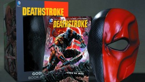 Deathsvstroke Mask and Book Set