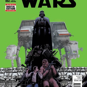 Star Wars #2 John Cassaday 6TH Printing Variant