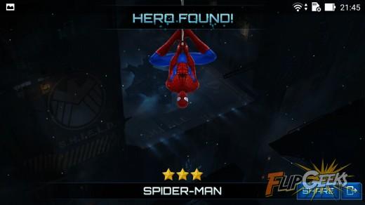 Asus-Zenfone2-Laser5-Marvel-Future-Fight-Spiderman