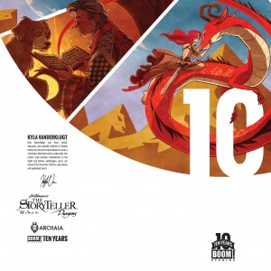 Jim Henson's The Storyteller: Dragons #1 Incentive Cover by David Petersen