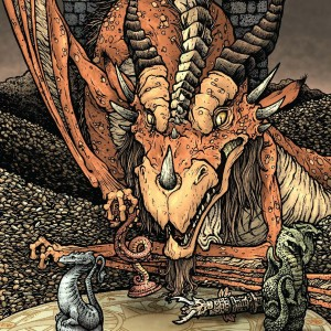 Jim Henson's The Storyteller: Dragons #1 Cover by Daniel Bayliss