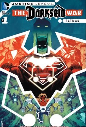 Justice League Darseid War Batman 1 cover