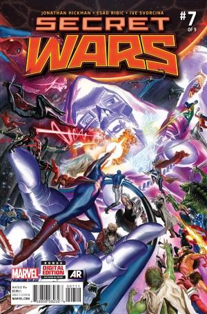 Secret Wars 7 cover