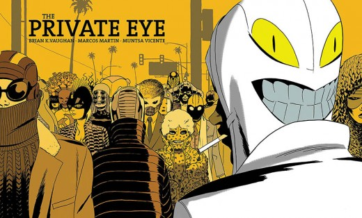 The Private Eye HC cover