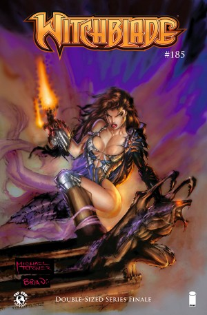 Witchblade 185 cover