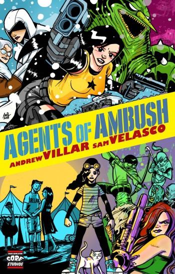 Agents of Ambush cover